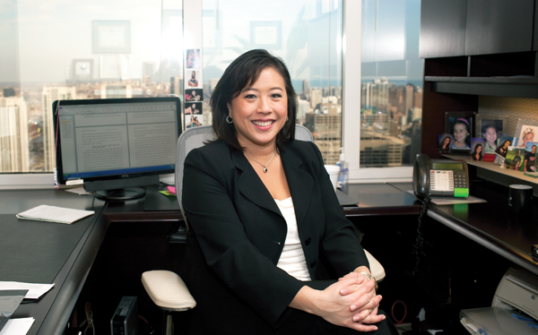 Sharon A. Hwang of McAndrews, Held & Malloy. &nbsp;<em></em>