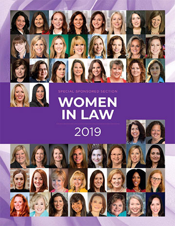 Women in Law - December 2019 cover